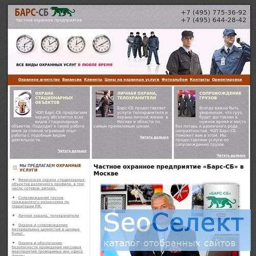 Телохранитель, проектирование: от ЧОП Барс-СБ. - http://barsohrana.ru/