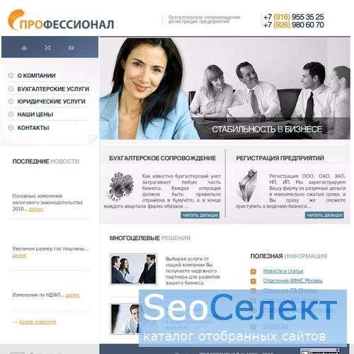 Профессионал: бухгалтерское сопровождение москва - http://prof-nalog.ru/