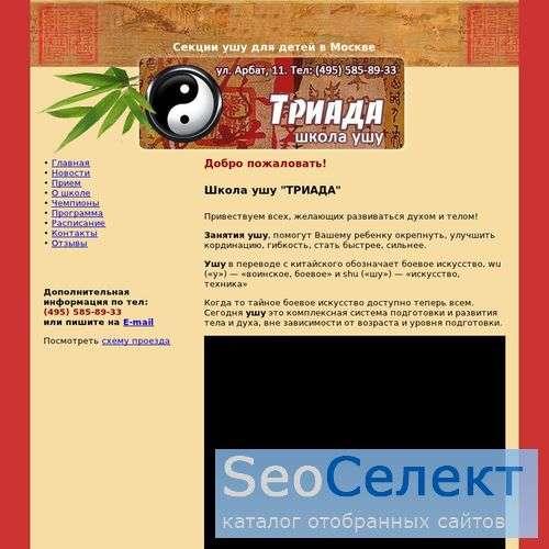 Китайская гимнастика ушу - http://wushu-moscow.ru/