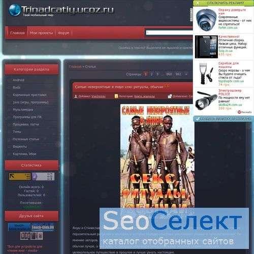Сайт сенсорных телефонов samsung - http://trinadcatiy.ucoz.ru/